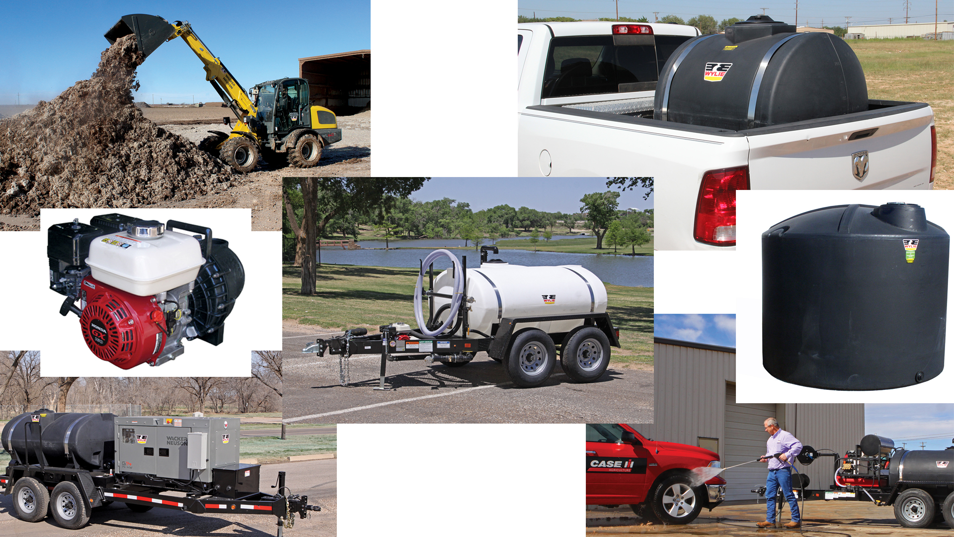 Storm Recovery Equipment at El Campo and Corpus Christi locations