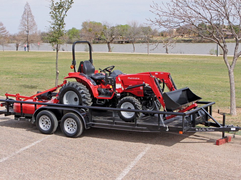 For sale red mahindra 4500 tractor in complete package deal ebay