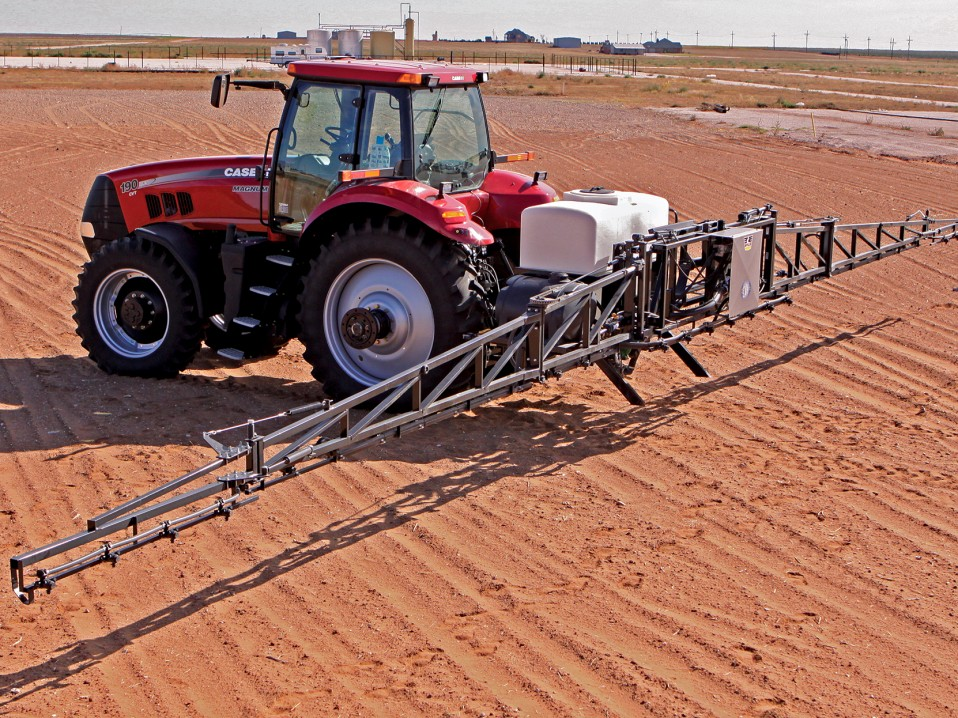 Boom Sprayers For Tractors : Row wyng boom sprayer wylie