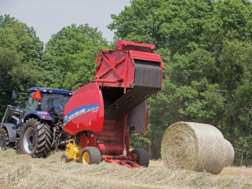 New Holland Round Balers - Wylie